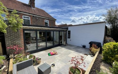 Property Refurbishment: Rear Extension, Kitchen, Bathroom & Patio